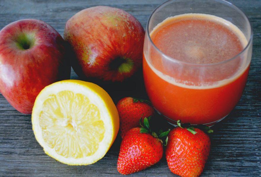 Strawberry Lemonade juice recipe