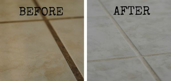 three ingredients your bathroom will shine here is the best homemade grout cleaner healthy. Black Bedroom Furniture Sets. Home Design Ideas
