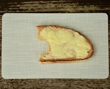 Bread and butter healthy food and better margarine