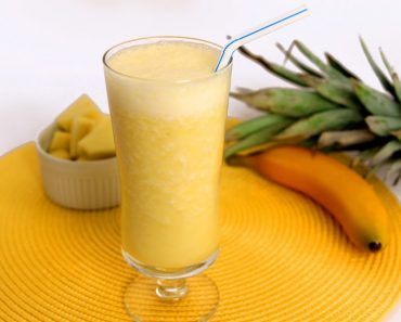 best pineapple and banana smoothie for getting rid of fat