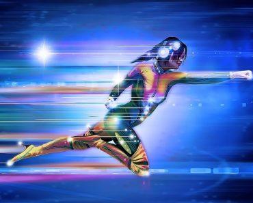 superhero running for weight loss