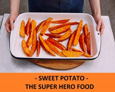 sweet potato is a super hero food
