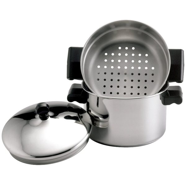 Gas cooking steamer stainless steel