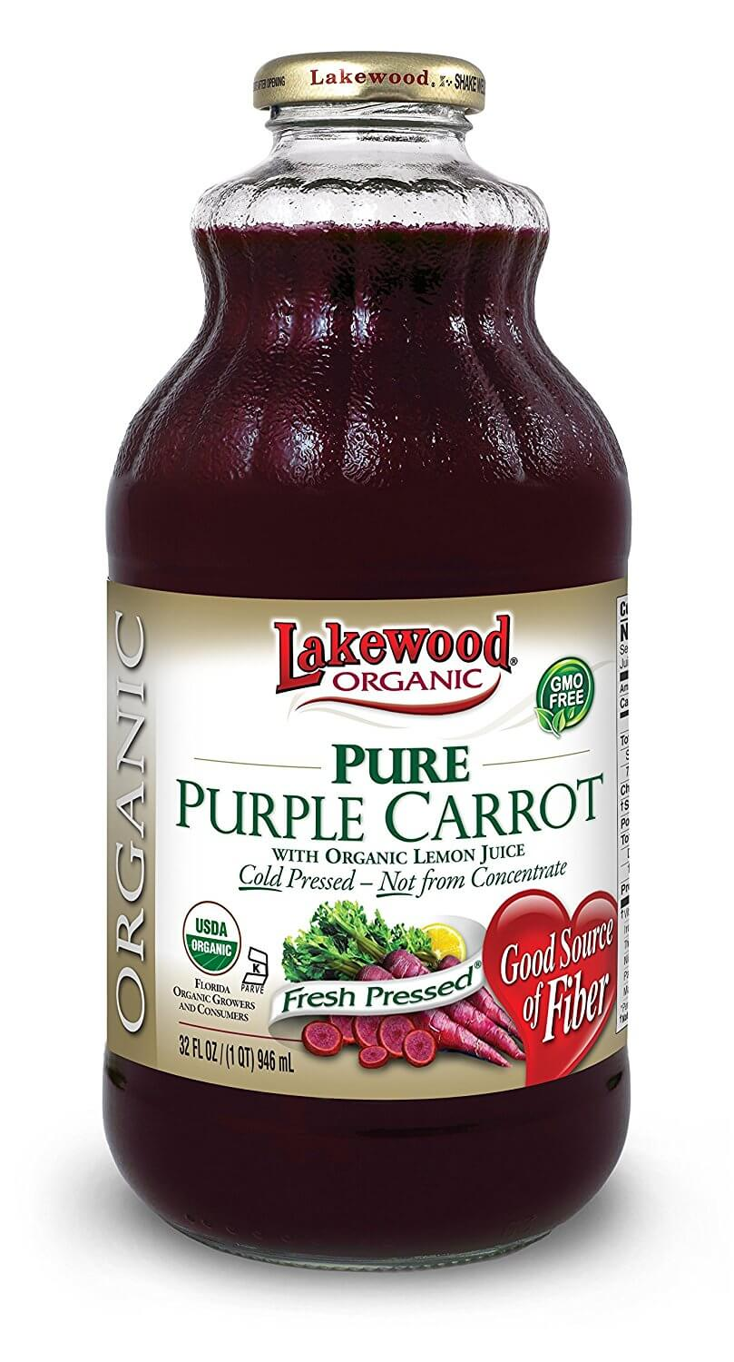 Lakewood Organic Pure Purple Carrot, 32 Ounce