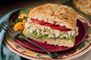 Canned salmon sandwich spread recipe