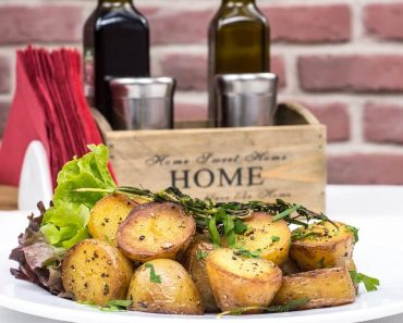 Oven roast new red potato recipe